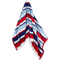 Kaufman Velour Stripe Beach Towel