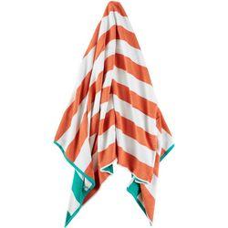 Kaufman Reversible Stripe Beach Towel