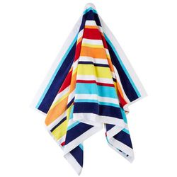 Kaufman Multi Stripe Beach Towel