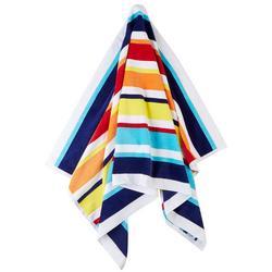 Joey Multi Stripe Beach Towel