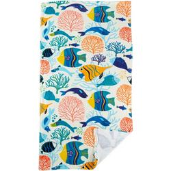 Fish & Reef Beach Towel