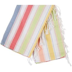 Arkwright Sand Free Stripe Turkish Beach Towel