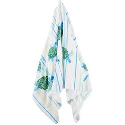 Turtle Stripe Beach Towel