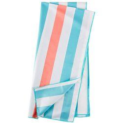Great Bay Home Cabana Stripe Beach Towel