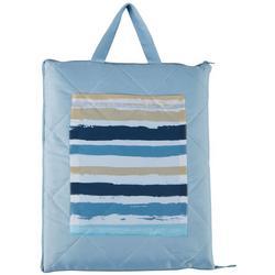 60x70 Striped Beach Blanket