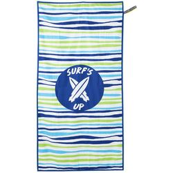 Surf's Up Striped High Performance Beach Towel