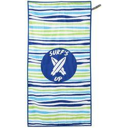 Beach Tech Surf's Up Striped High Performance Beach Towel