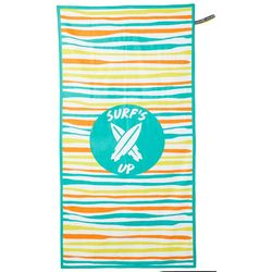 Wavy Striped High Performance Beach Towel