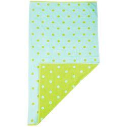 Shoreline Collection Polka Dot Beach Towel