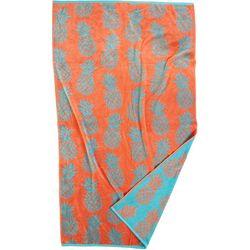 Shoreline Collection Pineapple Beach Towel
