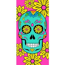 JGR Copa Sugar Skull Beach Towel
