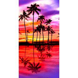 JGR Copa Tropical Sunset Beach Towel