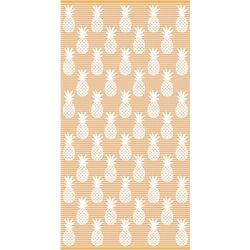 Pineapple Stripe Beach Towel