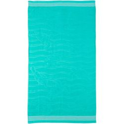 Turtle Waves Beach Towel