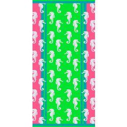 Pisces Global Seahorse Confetti Beach Towel