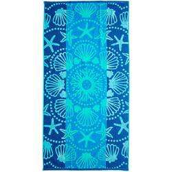 Shell Mandala Beach Towel