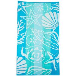 Pisces Global Sea Floor Stripe Beach Towel