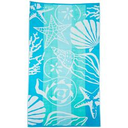 Sea Floor Stripe Beach Towel