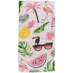 Summer Graffiti Beach Towel
