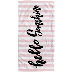 Moda at Home Hello Sunshine Beach Towel