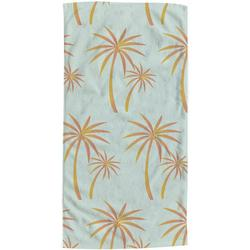 Palm Tree Dance Beach Towel