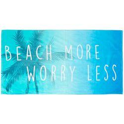 Tropix Beach More Worry Less Beach Towel