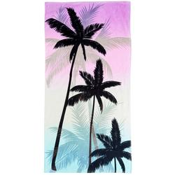 Palm Tree Sky Beach Towel