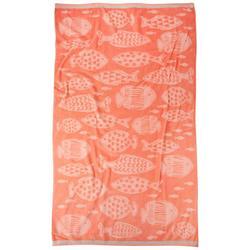 Underwater Fish Beach Towel