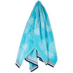 Pineapple Tile Beach Towel