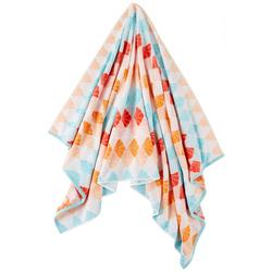 Shell Tile Beach Towel