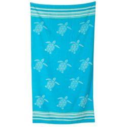 Coastal Home St. Tropez Sea Turtle Beach Towel