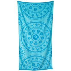 Coastal Home Seaside Medallion Beach Towel