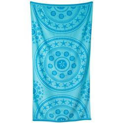 Seaside Medallion Beach Towel