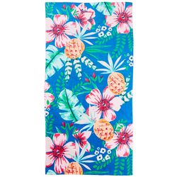 Pineapple Fiesta Beach Towel