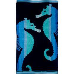 Coastal Home Seahorse Beach Towel