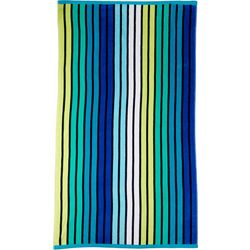 Coastal Home Stripe Beach Towel