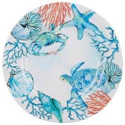 Summer Sealife Dinner Plate