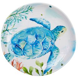 Summer Sealife Sea Turtle Appetizer Plate