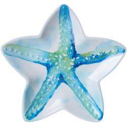 8.5'' Summer Sea Life Starfish Shaped Plate