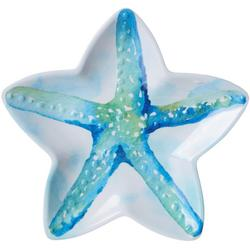 8.5'' Summer Sea Life Starfish Shaped Plate