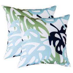 Coastal Home 2-pk. Tropical Leaf Decorative Pillow Set