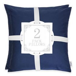 2-pk. Solid Decorative Pillow Set