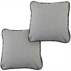 Coastal Home 2-pc. Solid Decorative Pillow Set