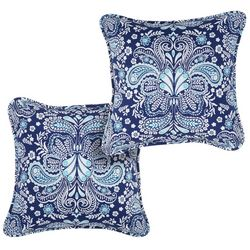Coastal Home 2-pc. Paisley Decorative Pillow Set