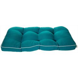 Tempo Solid Outdoor Loveseat Cushion