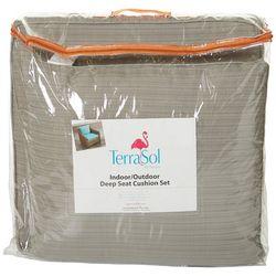 Tempo 2-pc. TerraSol Deep Seat Cushion Set