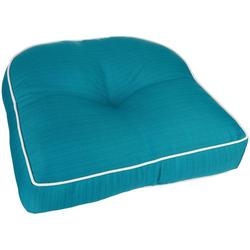 Solid Outdoor Chair Cushion