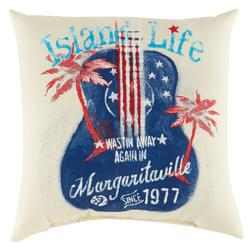 Island Life Outdoor Pillow