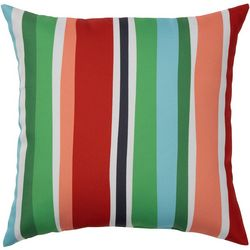 Lake Stripe Outdoor Pillow