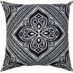 Mehndi Diamond Outdoor Pillow